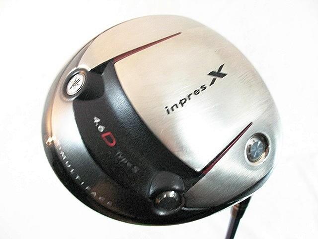 ヤマハ インプレス X 4.6DタイプS ドライバー 2008 ツアーAD クアトロテックMD-6